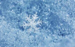 Волшебство снега
