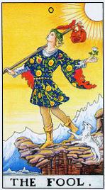 Медитации с картами Таро - Шут