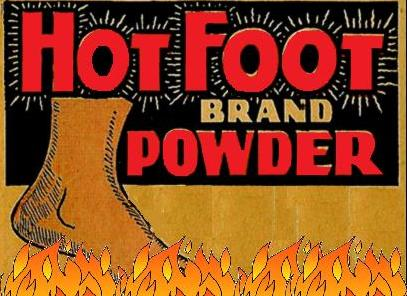 Порошок hot foot