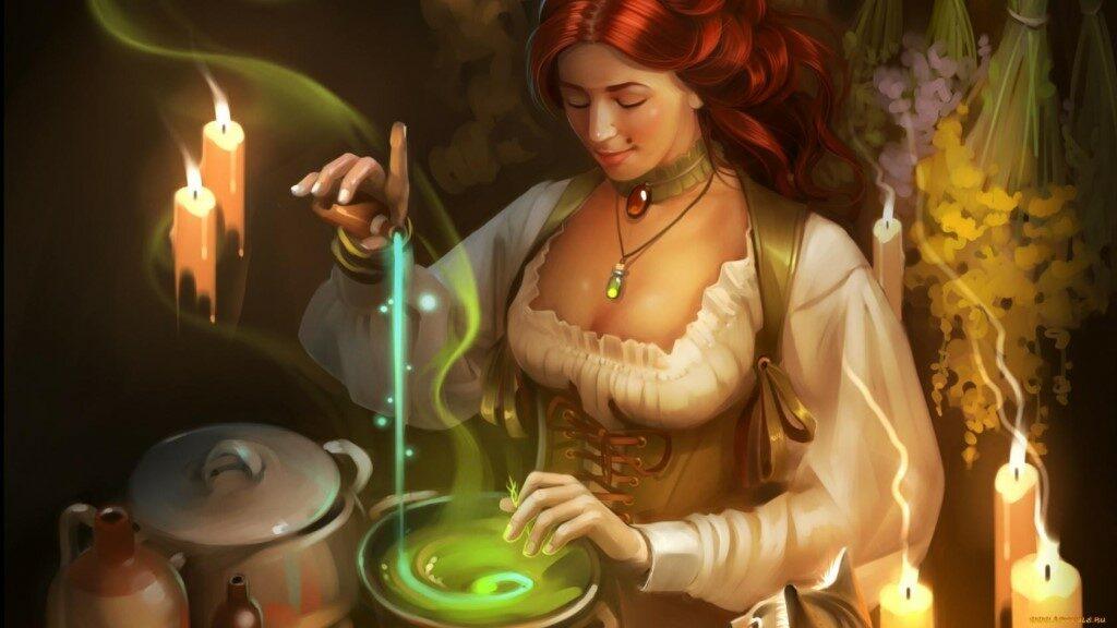Еда в магии