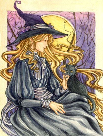 Магия глазами колдуньи